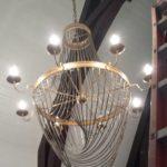 Beautiful foyer lighting