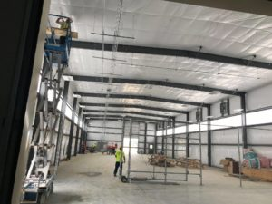 Warehouse electrical project
